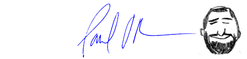 Paul O'Rear Signature