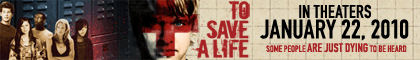 To Save a Life Movie Banner