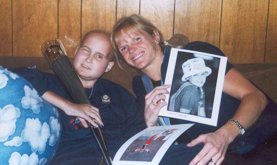 Ashley O'Rear and Nikki Stone - November 19, 2001