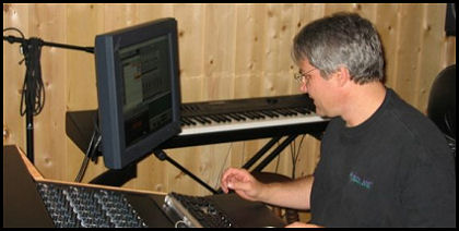 Until Then recording session, Randy McCoy