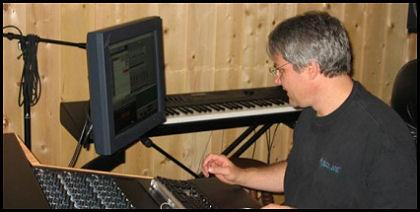 Until Then recording session, Randy McCoy