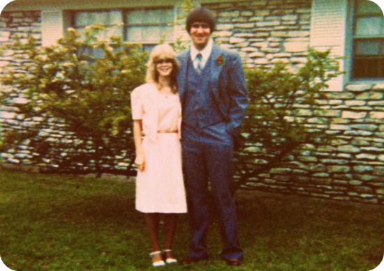Susan Moore and Paul O'Rear, April 1981